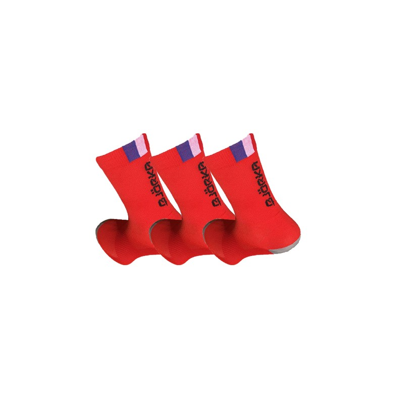 Pack 3 Chaussettes - Rouge