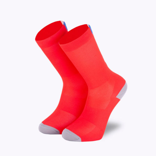 Bjorka Stelvio red socks face