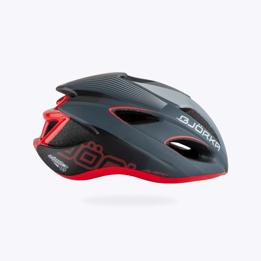 Casque Vélo Bjorka HB51 GrisR lateral