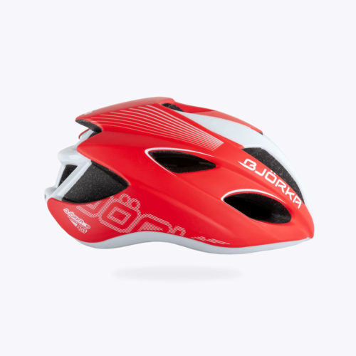 Casque Vélo Bjorka HB51 Rouge lateral