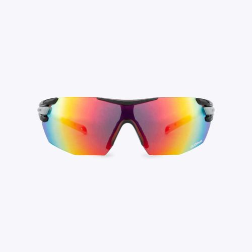 Bjorka Fast cycling glasses black color front