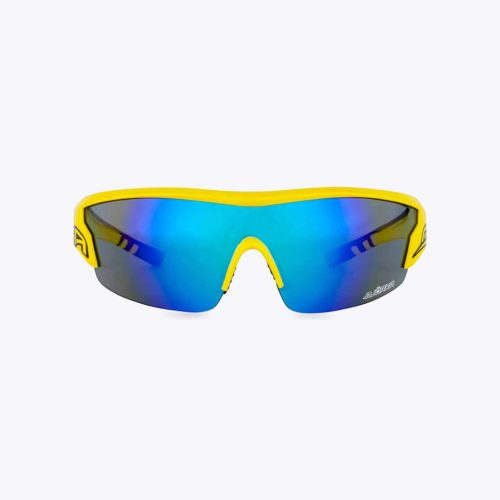 Bjorka Flash cycling glasses yellow front