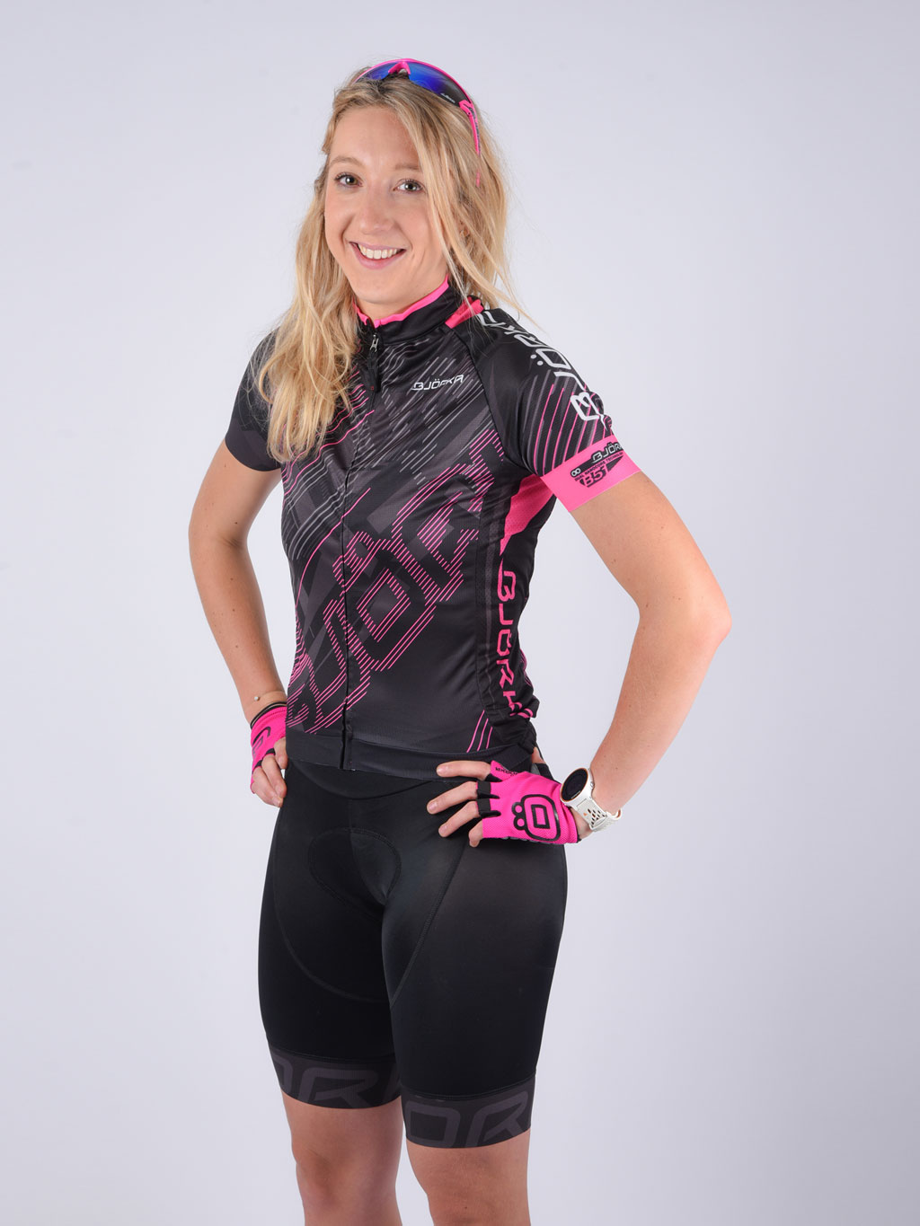 Maillot Kiss Cuissard Bjorka femme velo sourire