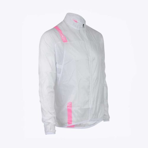 veste coupe-vent bjorka ultralight 34 rose